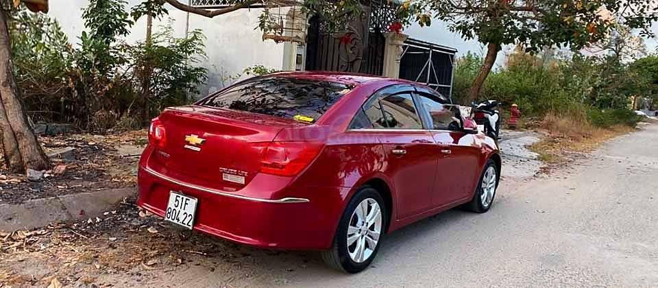 Bán xe Chevrolet Cruze LTZ 1.8 AT năm sản xuất 2016, màu đỏ (3)
