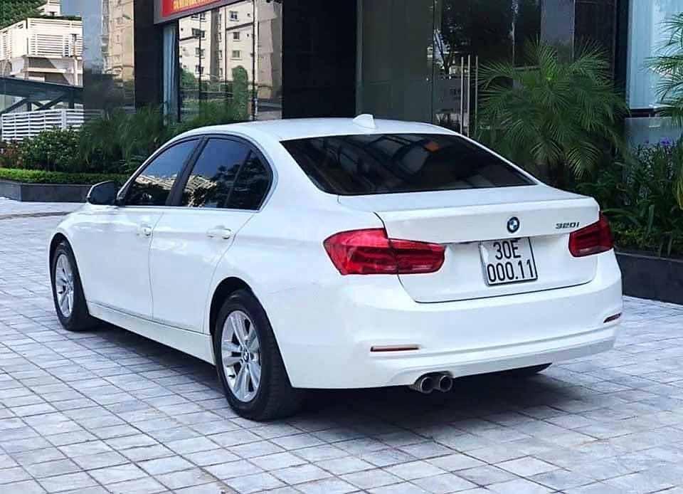 Bán xe BMW 3 Series sản xuất năm 2015, màu trắng, nhập khẩu còn mới (4)