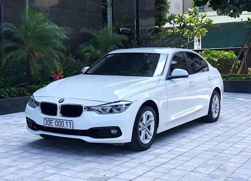 Bán xe BMW 3 Series sản xuất năm 2015, màu trắng, nhập khẩu còn mới (1)