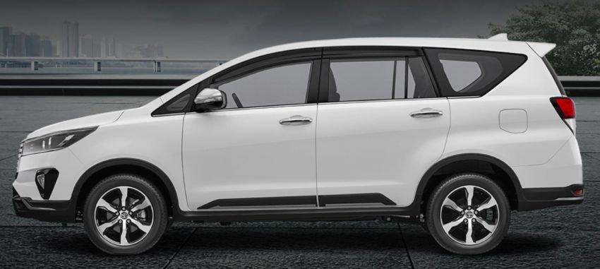 Toyota Innova 2021 facelift cung cấp nhiều lựa chọn.