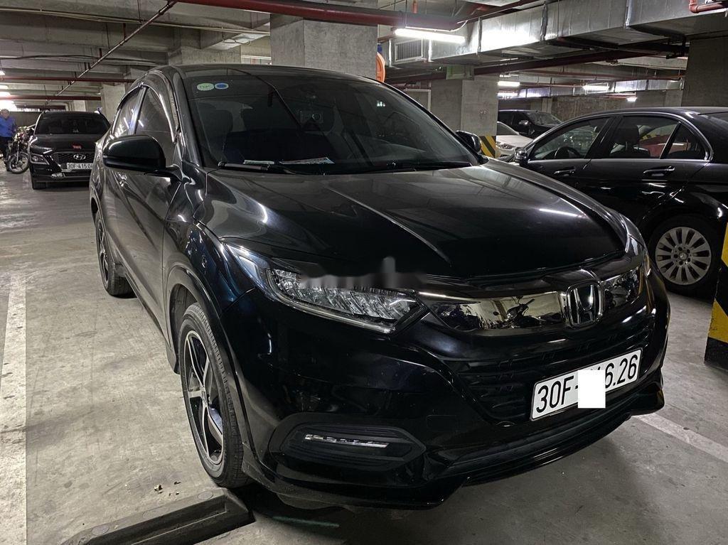 Bán Honda HR-V 2019, màu đen, nhập khẩu, biển Hà Nội (2)