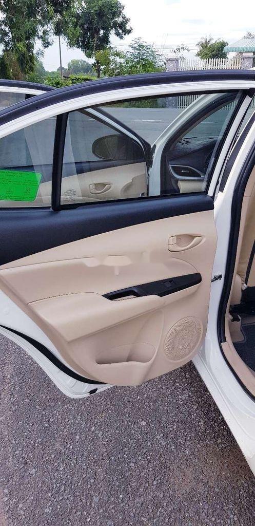 Bán Toyota Vios E 2019, màu trắng, giá chỉ 475 triệu (6)