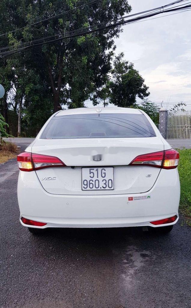 Bán Toyota Vios E 2019, màu trắng, giá chỉ 475 triệu (3)