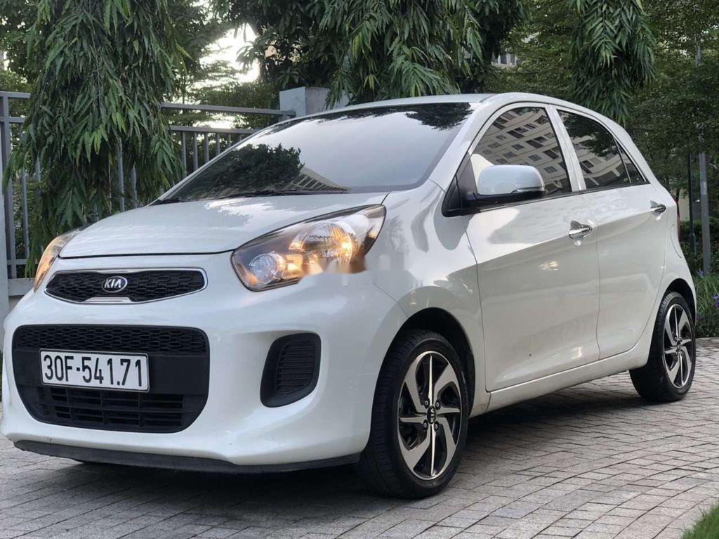 Cần bán xe Kia Morning sản xuất 2019, màu trắng, nhập khẩu nguyên chiếc chính chủ (1)