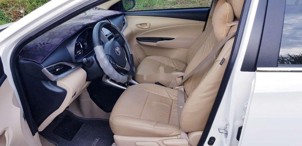Bán Toyota Vios E 2019, màu trắng, giá chỉ 475 triệu (8)