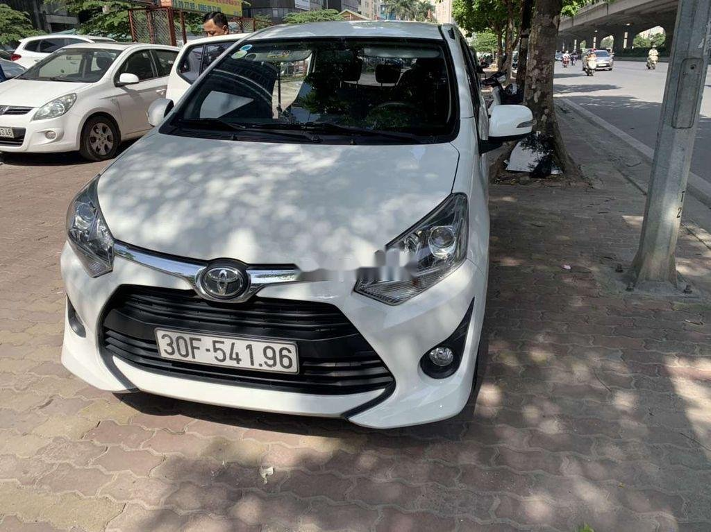 Cần bán Toyota Wigo năm sản xuất 2018, màu trắng, xe nhập   (1)
