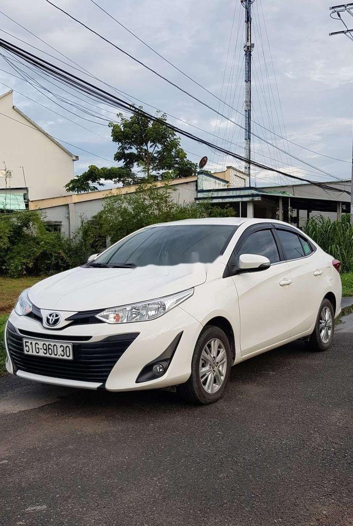 Bán Toyota Vios E 2019, màu trắng, giá chỉ 475 triệu (2)