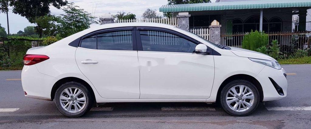 Bán Toyota Vios E 2019, màu trắng, giá chỉ 475 triệu (4)