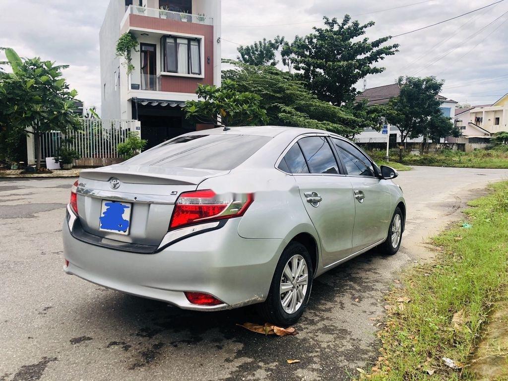 Bán Toyota Vios sản xuất năm 2015, màu bạc số tự động (7)