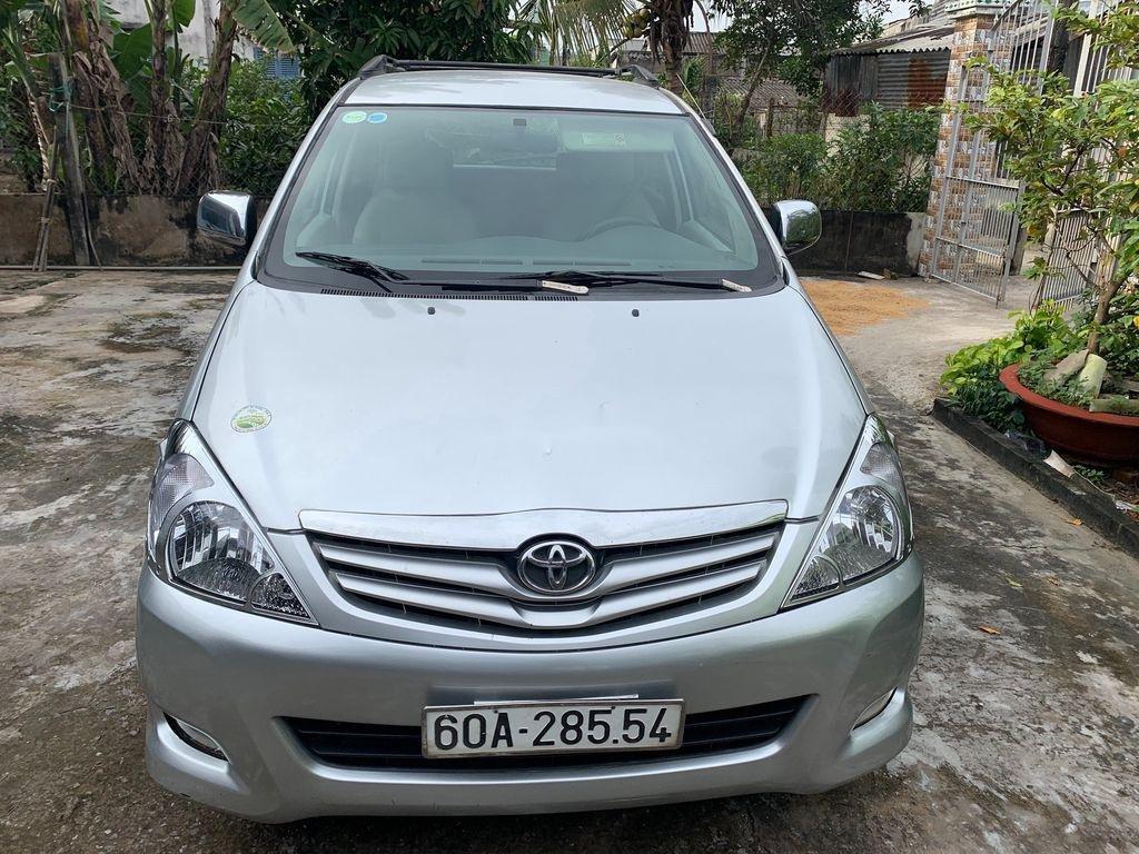 Bán Toyota Innova G 2009, màu bạc xe gia đình, 289tr (1)