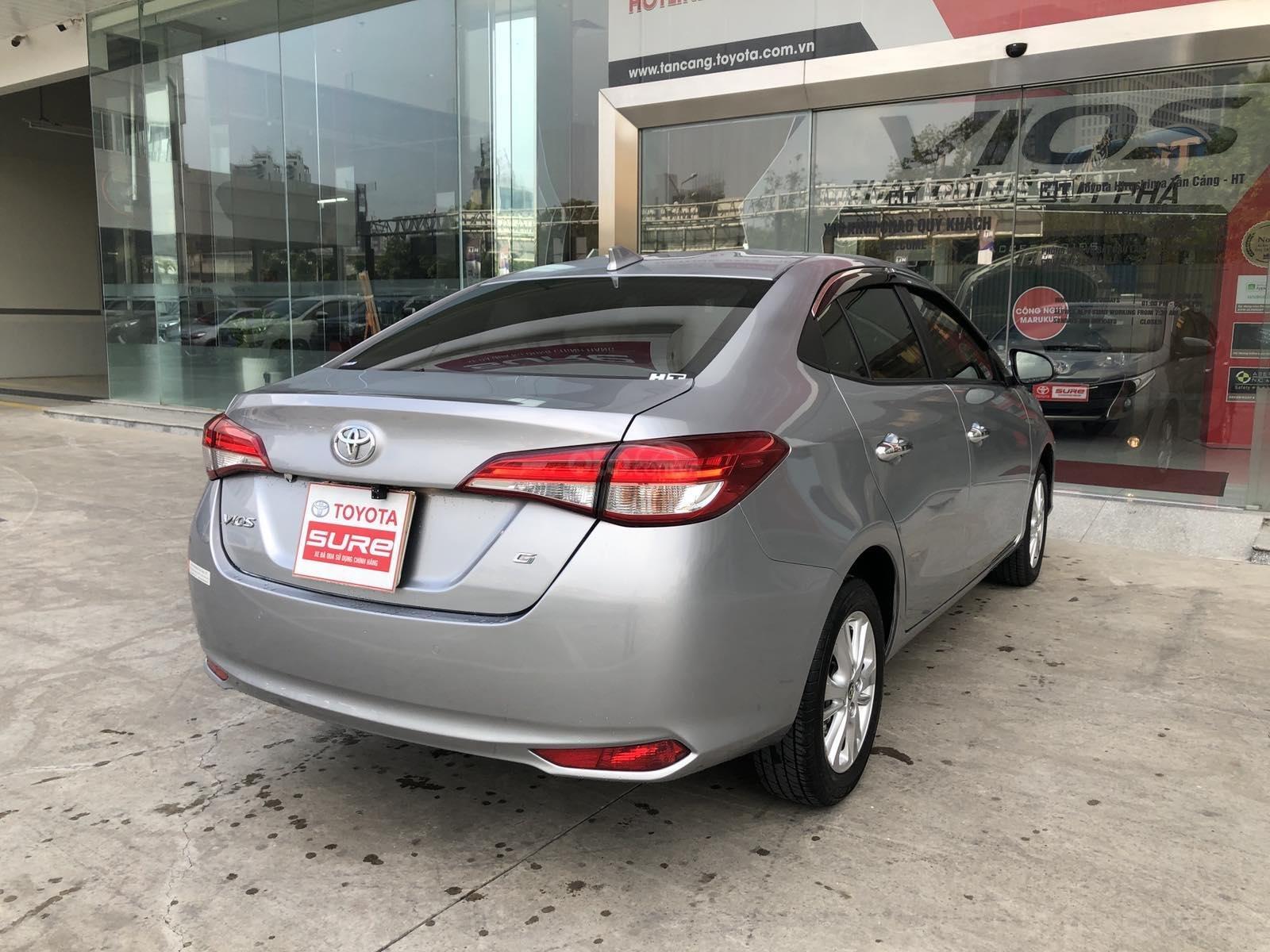 Cần bán xe Toyota Vios 1.5G CVT 2019, màu bạc, xe gia đình đi 28.000km - xe chất giá tốt (5)