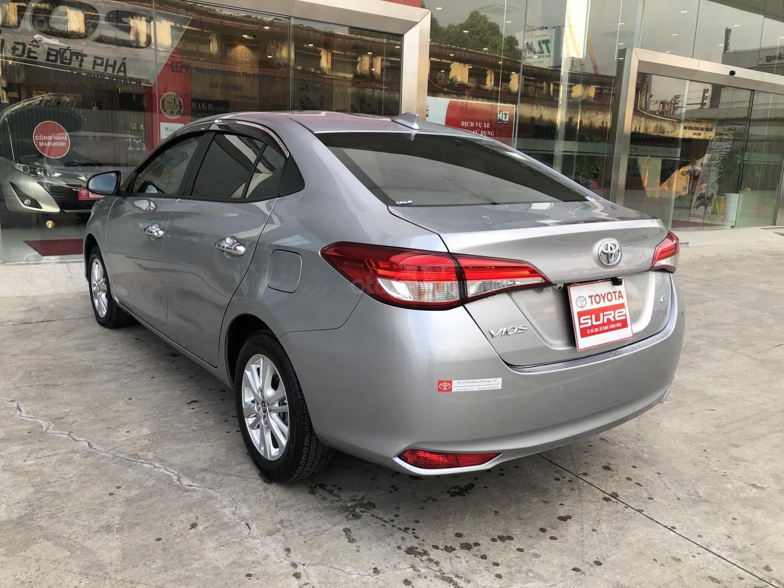 Cần bán xe Toyota Vios 1.5G CVT 2019, màu bạc, xe gia đình đi 28.000km - xe chất giá tốt (6)
