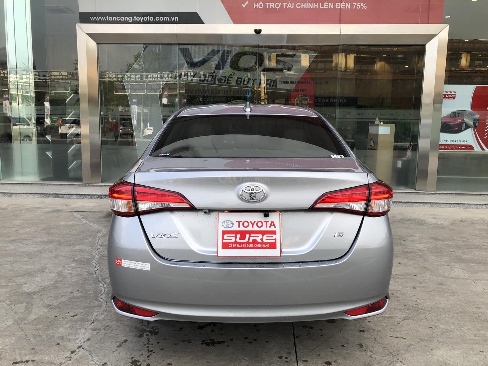 Cần bán xe Toyota Vios 1.5G CVT 2019, màu bạc, xe gia đình đi 28.000km - xe chất giá tốt (7)