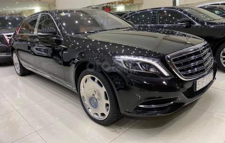 Mercedes Benz S600 Maybach màu đen, nội thất trắng kem, một tuyệt tác siêu phẩm, đời 2016, đi đúng 40.225 km (2)