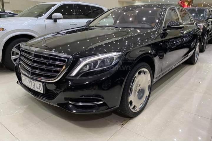 Mercedes Benz S600 Maybach màu đen, nội thất trắng kem, một tuyệt tác siêu phẩm, đời 2016, đi đúng 40.225 km (3)