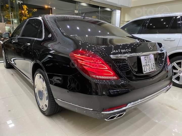 Mercedes Benz S600 Maybach màu đen, nội thất trắng kem, một tuyệt tác siêu phẩm, đời 2016, đi đúng 40.225 km (5)