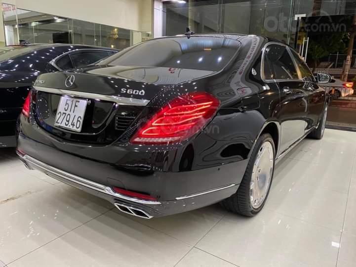 Mercedes Benz S600 Maybach màu đen, nội thất trắng kem, một tuyệt tác siêu phẩm, đời 2016, đi đúng 40.225 km (6)