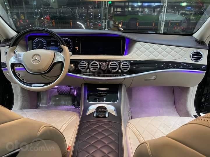 Mercedes Benz S600 Maybach màu đen, nội thất trắng kem, một tuyệt tác siêu phẩm, đời 2016, đi đúng 40.225 km (13)