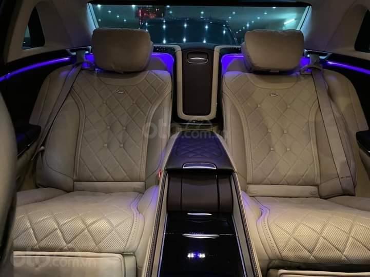 Mercedes Benz S600 Maybach màu đen, nội thất trắng kem, một tuyệt tác siêu phẩm, đời 2016, đi đúng 40.225 km (14)
