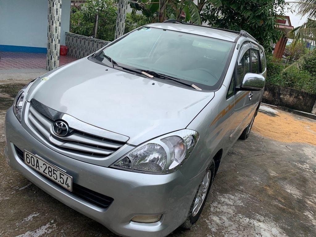 Bán Toyota Innova G 2009, màu bạc xe gia đình, 289tr (8)