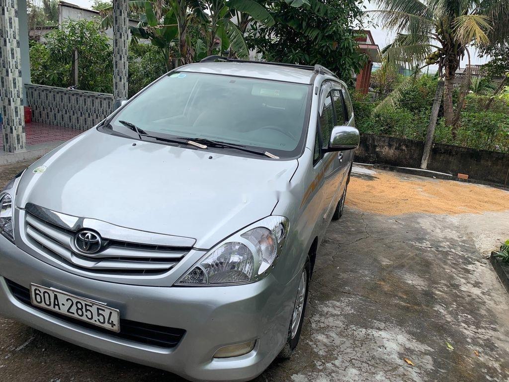 Bán Toyota Innova G 2009, màu bạc xe gia đình, 289tr (2)