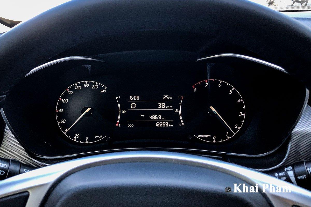 Ảnh Đồng hồ xe Baic X55 2020