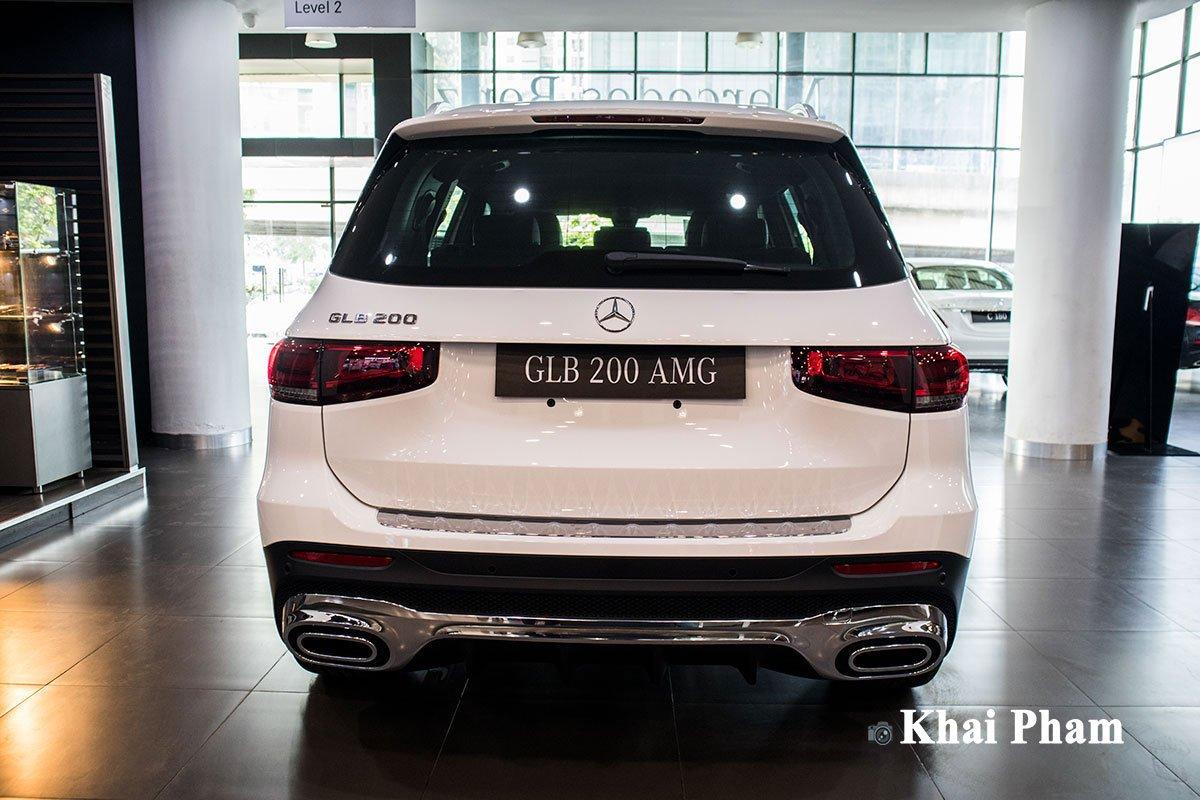 Ảnh chính diện Đuôi xe Mercedes-Benz GLB 200 AMG 2020