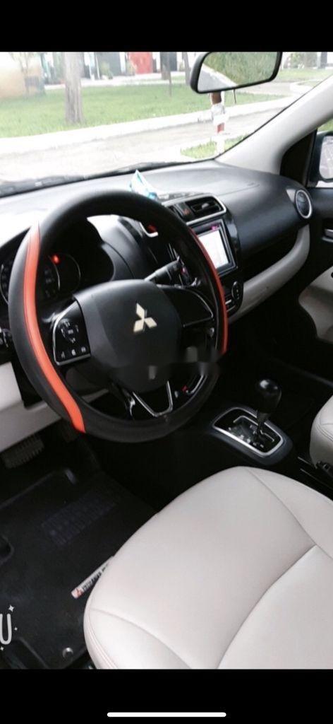 Bán xe Mitsubishi Attrage năm 2017, màu xám, 355tr (2)