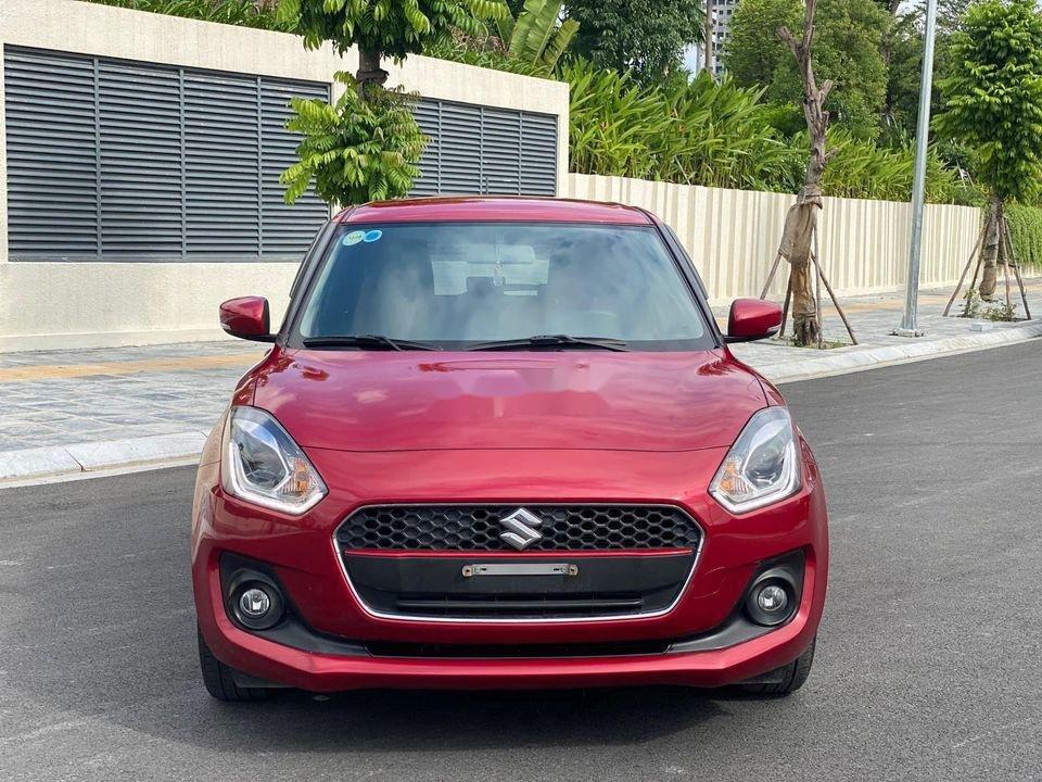 Cần bán xe Suzuki Swift GLX 1.2CVT đời 2019, màu đỏ, nhập khẩu nguyên chiếc (1)