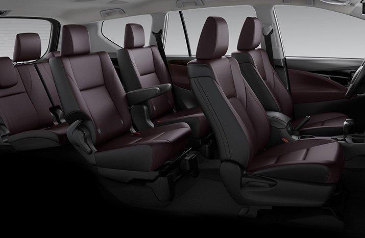 Thông số kỹ thuật xe Toyota Innova 2020: nội thất 1
