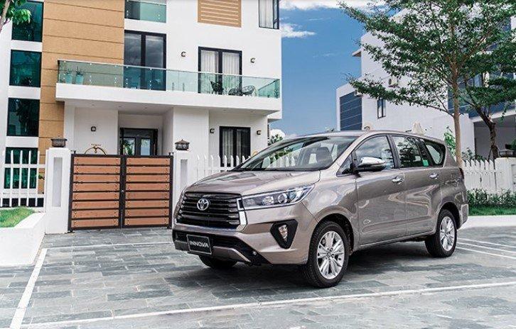 Thông số kỹ thuật xe Toyota Innova 2020