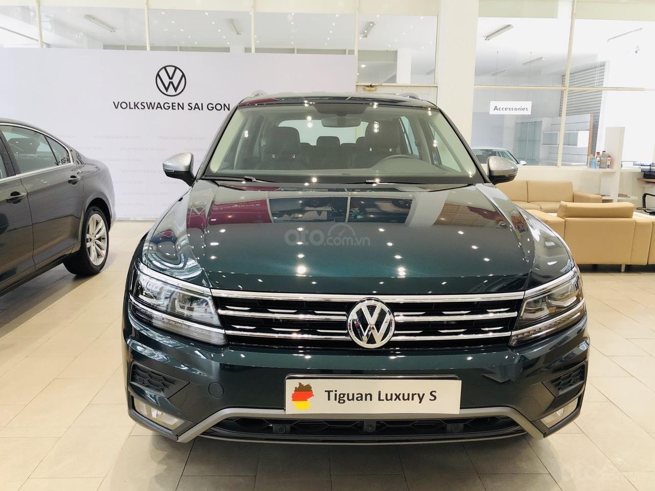 Volkswagen Tiguan Luxury S xanh rêu lạ mắt - xe Đức nhập khẩu 100% - giao ngay (3)