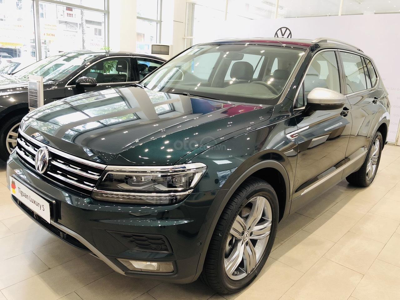 Volkswagen Tiguan Luxury S xanh rêu lạ mắt - xe Đức nhập khẩu 100% - giao ngay (4)