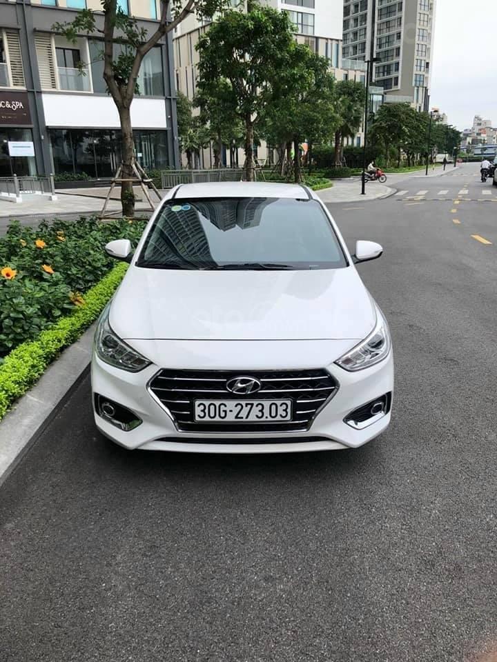 Bán xe giá thấp chiếc Hyundai Accent AT đời 2019, xe giá thấp, còn mới, động cơ ổn định (1)