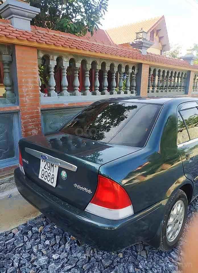 Cần bán xe Ford Laser 1.6 MT sản xuất 2001, màu xanh lam (4)