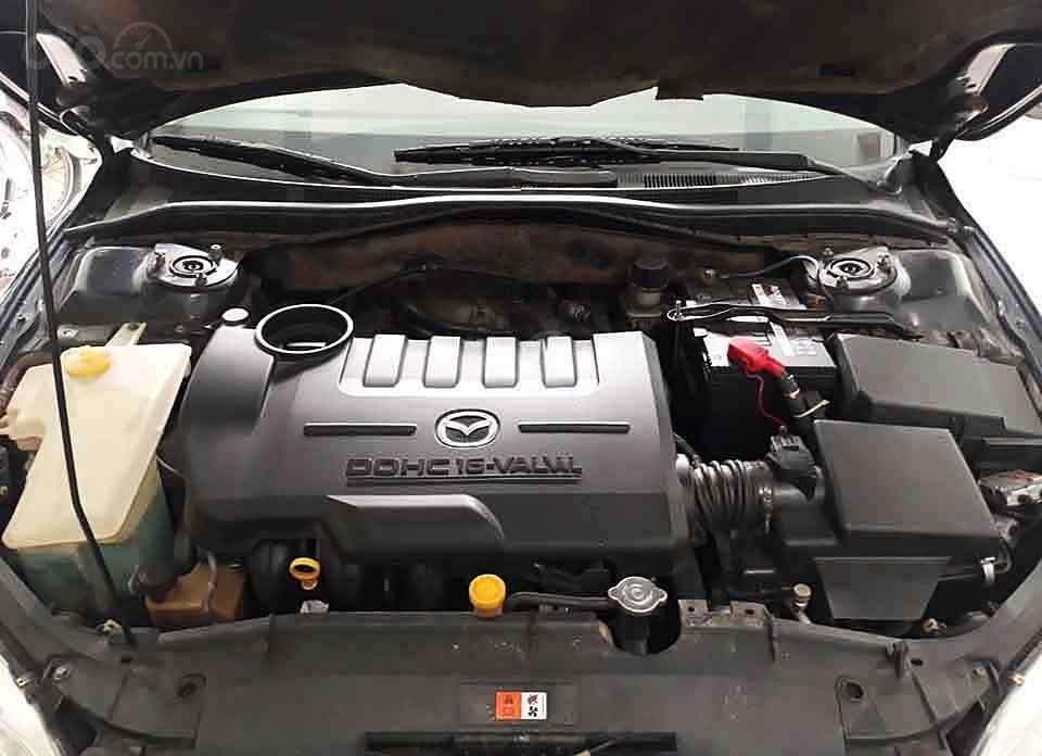 Bán Mazda 6 năm sản xuất 2005, màu đen xe gia đình giá cạnh tranh (2)