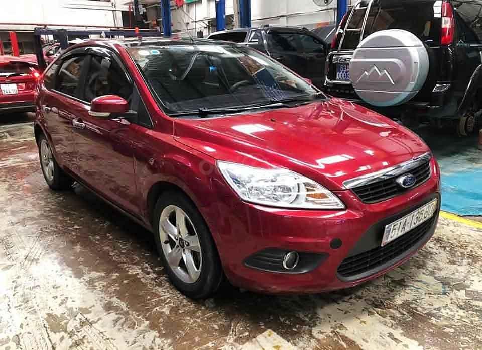 Cần bán lại xe Ford Focus năm sản xuất 2011, màu đỏ còn mới, 340 triệu (1)