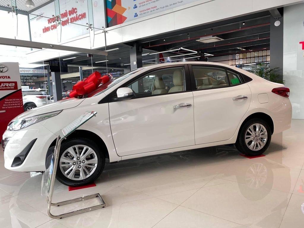 Bán ô tô Toyota Vios đời 2020, màu trắng, giá 455tr (2)