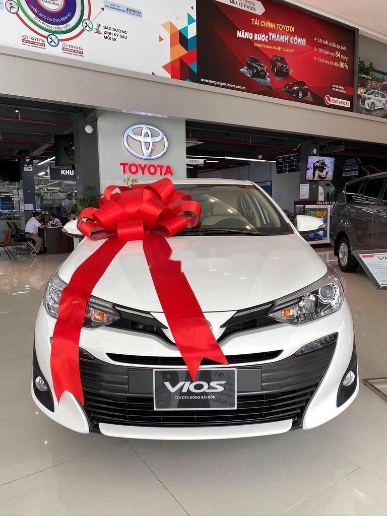 Bán ô tô Toyota Vios đời 2020, màu trắng, giá 455tr (1)