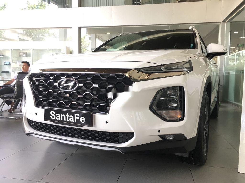 Cần bán xe Hyundai Santa Fe năm 2020, màu trắng (1)