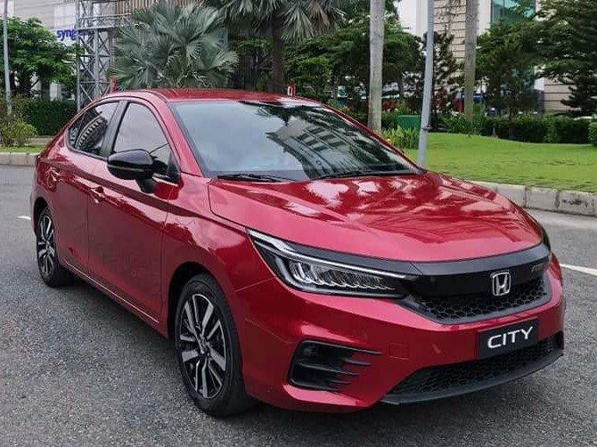 Thiết kế đầu xe Honda City 2020 bản RS 1