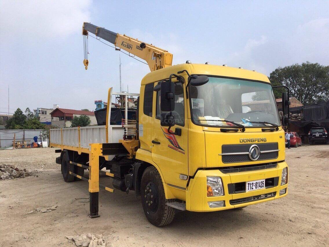 Xe gắn cẩu 5 tấn - Dongfeng B180 (1)