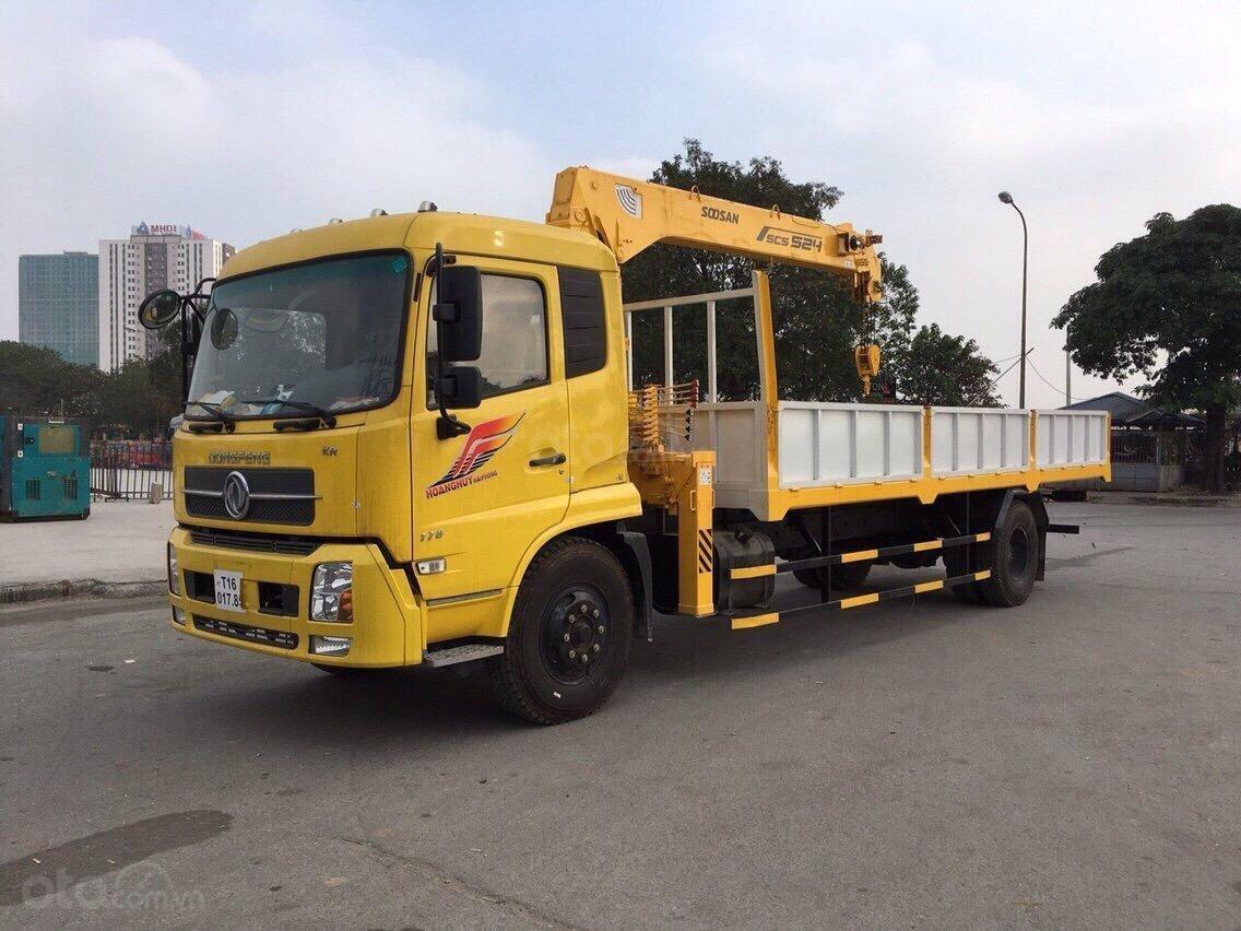 Xe gắn cẩu 5 tấn - Dongfeng B180 (2)