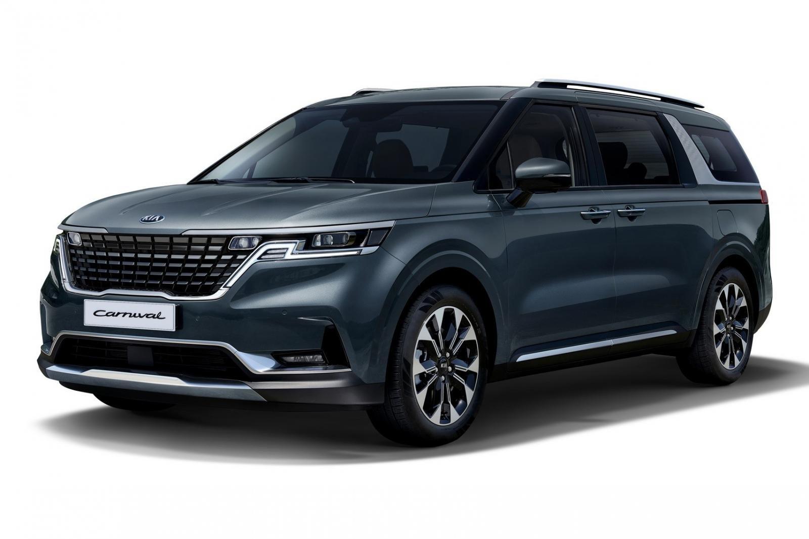 Đánh giá xe Kia Sedona 2021 về thiết kế đầu xe.