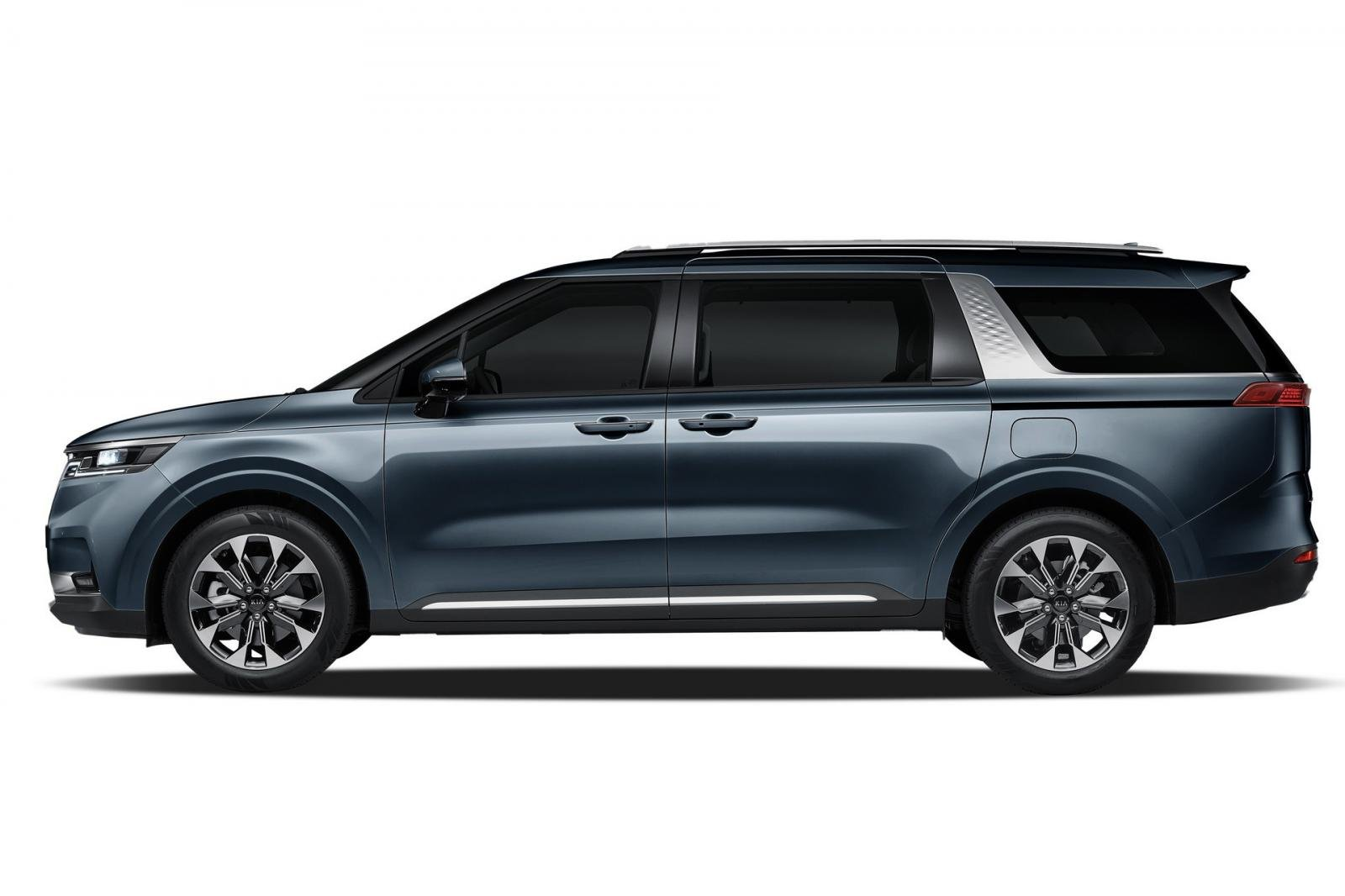 Đánh giá xe Kia Sedona 2021 về thiết kế thân xe.