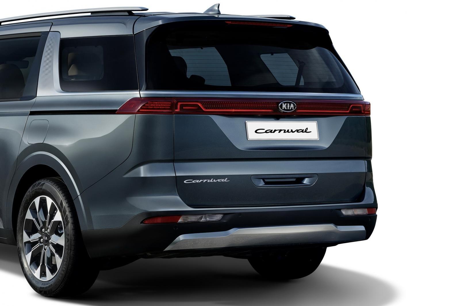 Đánh giá xe Kia Sedona 2021 về thiết kế đuôi xe - Ảnh 1.