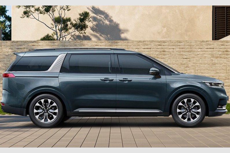 Đánh giá xe Kia Sedona 2021 về thiết kế thân xe - Ảnh 1.
