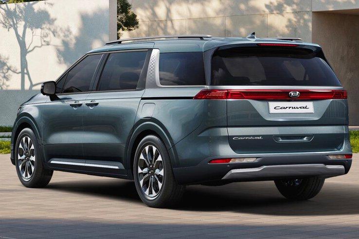 Đánh giá xe Kia Sedona 2021 về thiết kế thân xe - Ảnh 2.