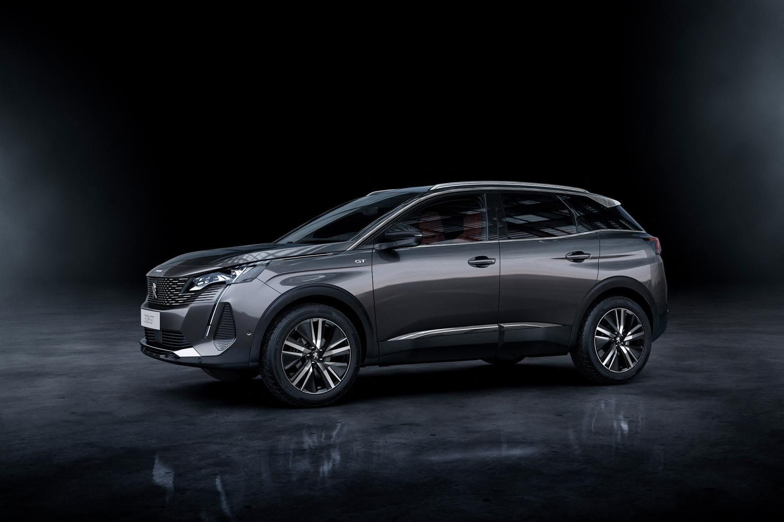 Đánh giá xe Peugeot 3008 2021 về thiết kế thân xe.