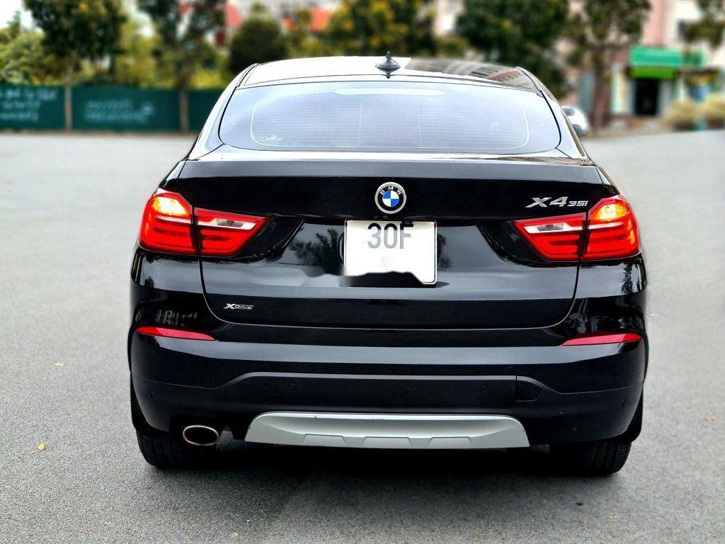 Bán BMW X4 đời 2016, màu đen, nhập khẩu, siêu lướt biển HN đẹp (4)
